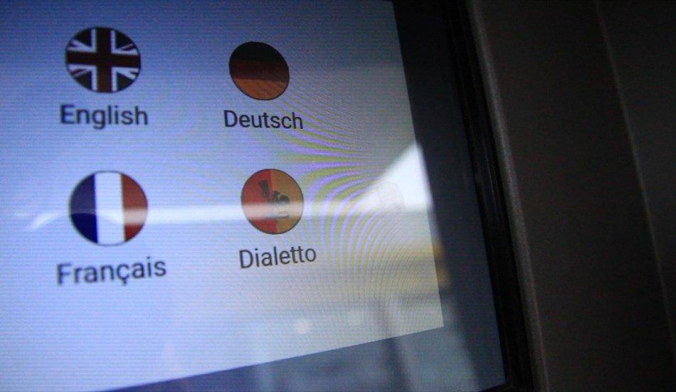 Distributore dialetto romagnolo