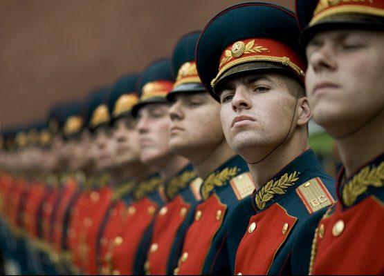 Soldati russi in divisa