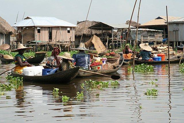 Mercato di Ganvié la Venezia Africana