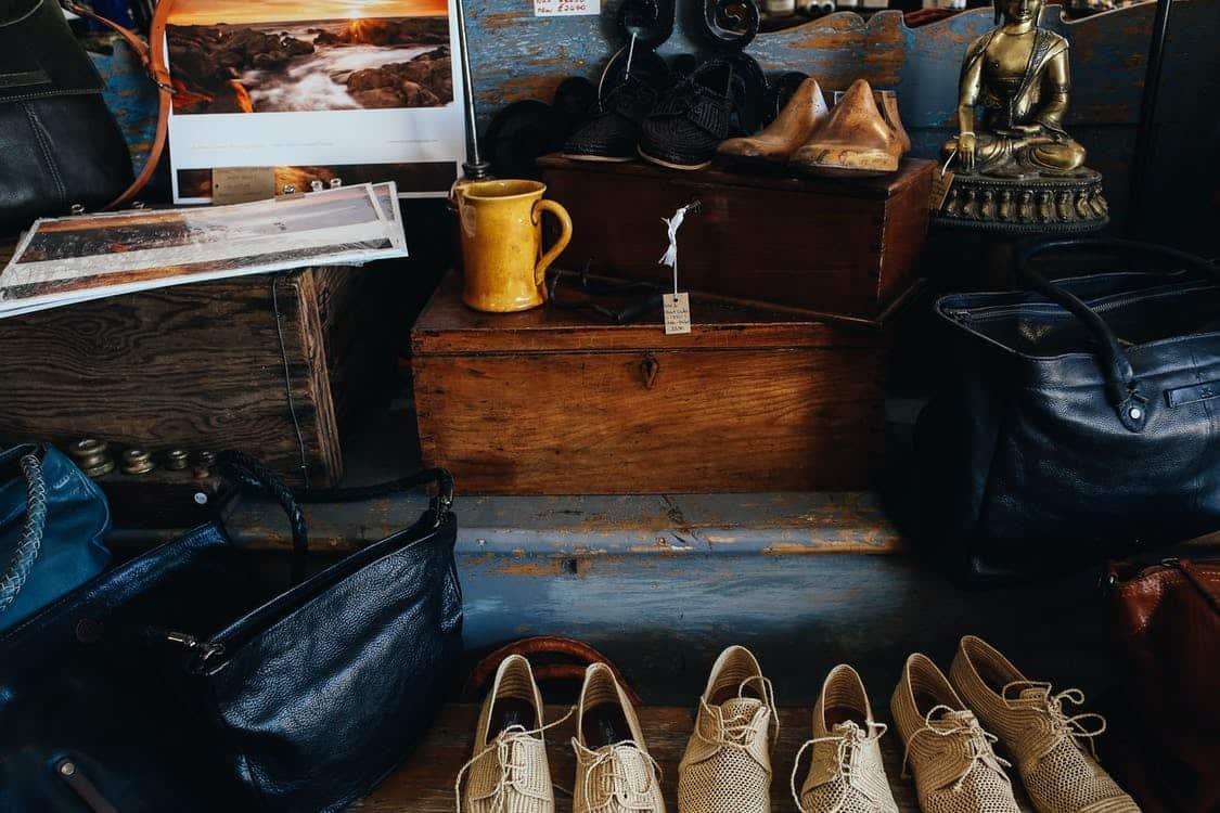 mercatino stile vintage