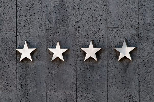 classificazione stelle hotel